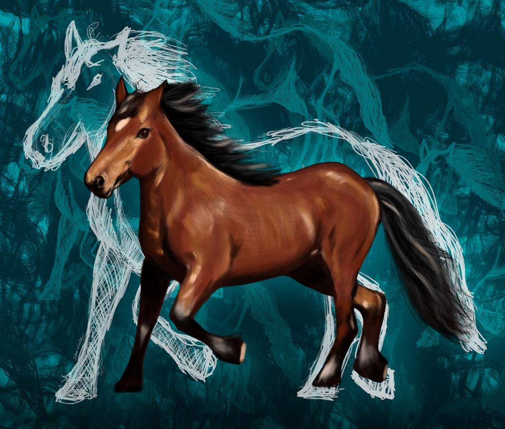 Inktober Horse October 31 2018